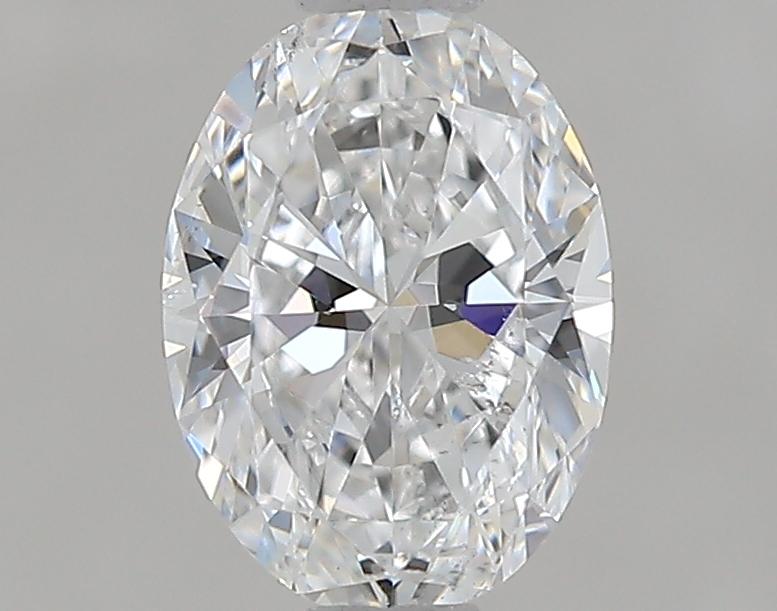 0.75 ct Oval Diamond : E / SI1