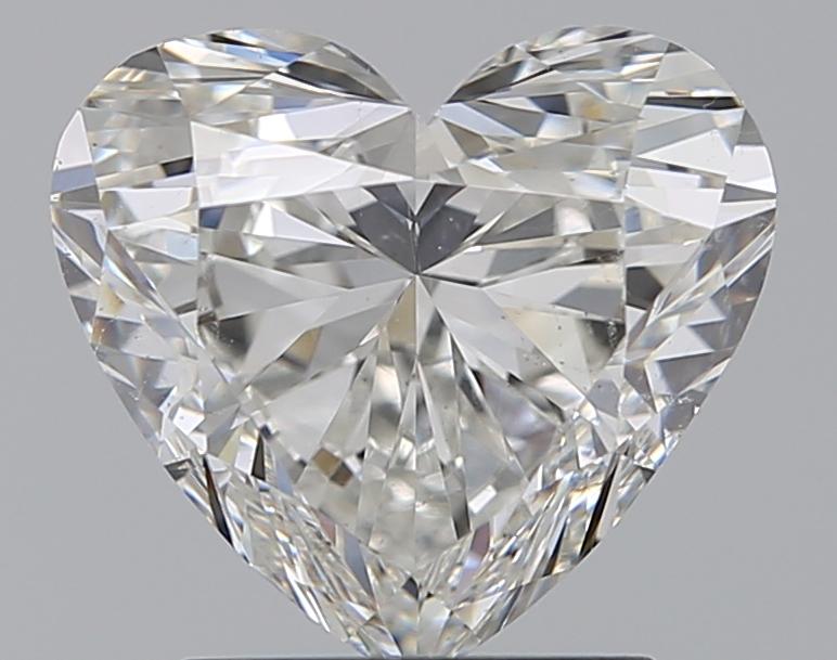 1.71 ct Heart Shape Diamond : H / SI1