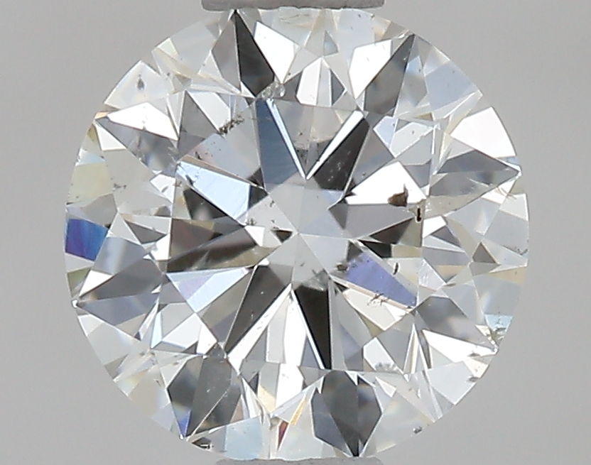 0.70 ct Round Diamond : H / SI2