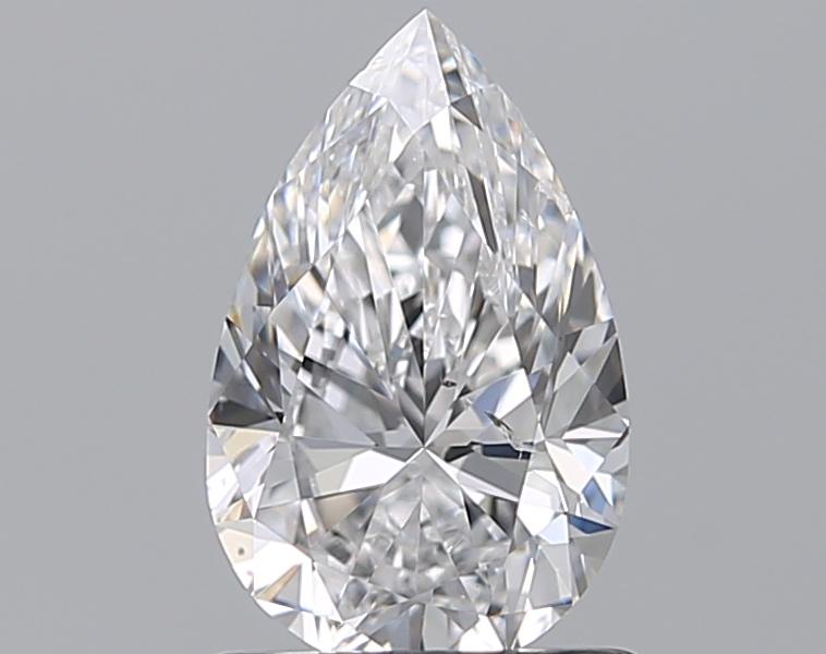 0.90 ct Pear Shape Diamond : D / SI2