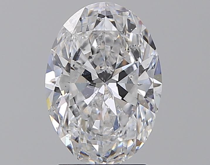 2.01 ct Oval Diamond : D / SI2