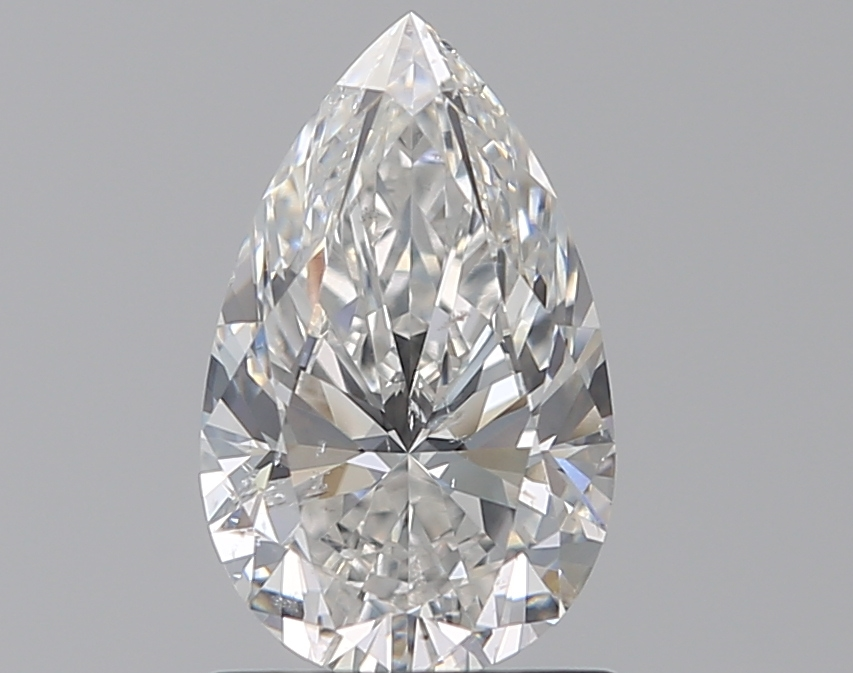 1.03 ct Pear Shape Diamond : E / SI1