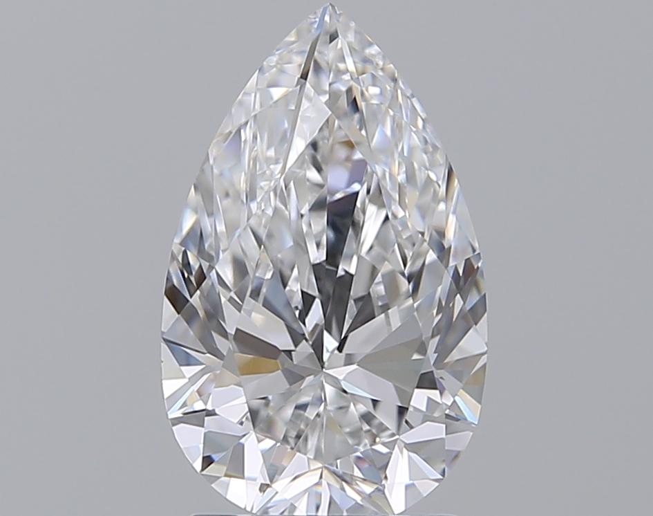 1.70 ct Pear Shape Diamond : D / VS1