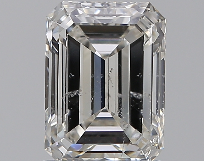 1.51 ct Emerald Cut Diamond : I / SI2