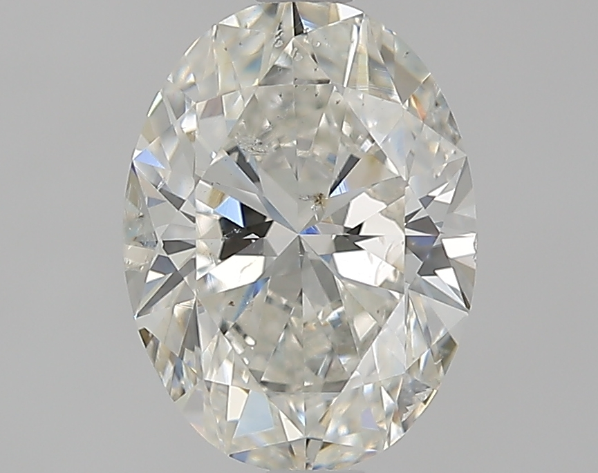 1.79 ct Oval Diamond : H / SI2