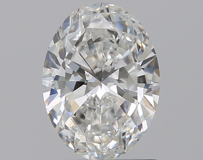 0.96 ct Oval Diamond : F / SI1
