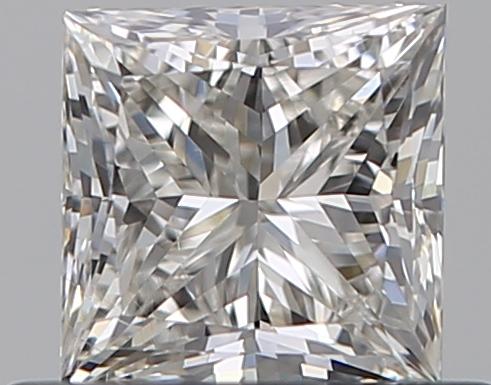 0.51 ct Princess Cut Diamond : J / SI1