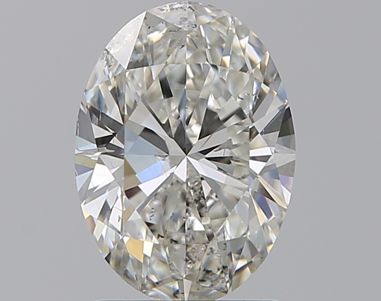 1.51 ct Oval Diamond : H / SI2