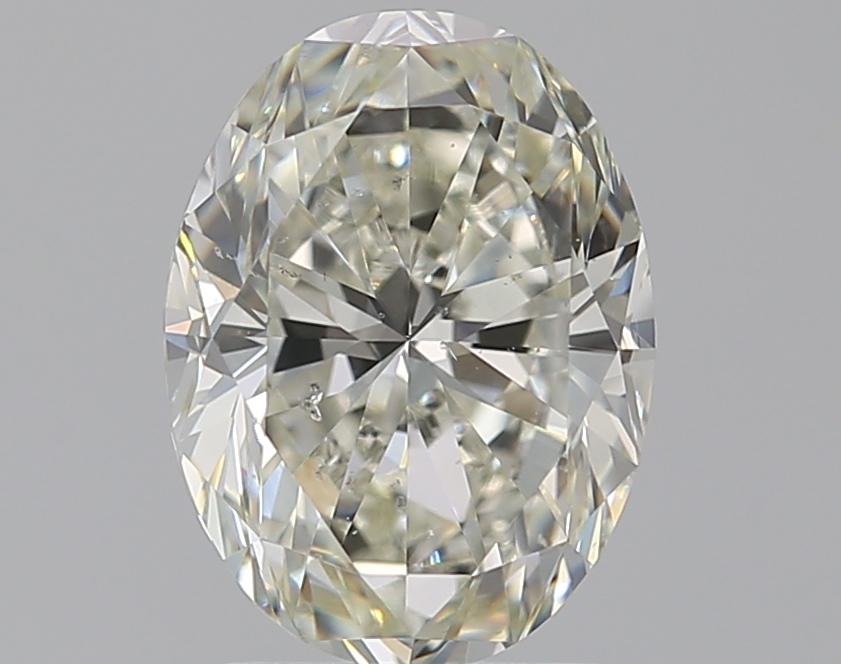 2.01 ct Oval Diamond : J / SI1