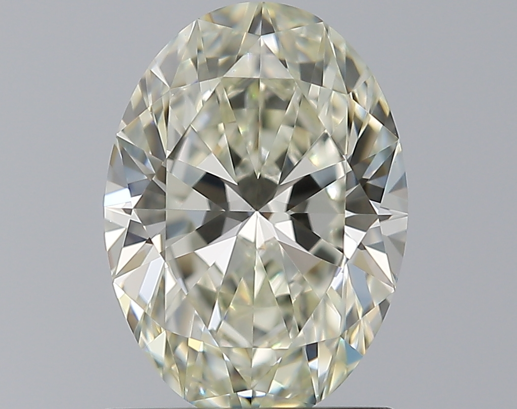 0.91 ct Oval Diamond : K / VVS2