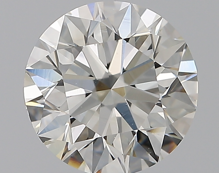 1.51 ct Round Diamond : J / SI1
