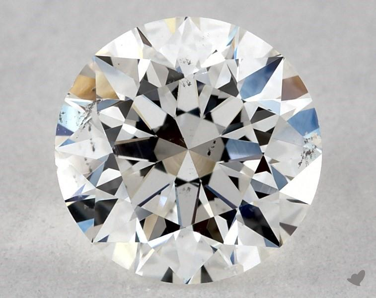 0.71 ct Round Diamond : G / SI1