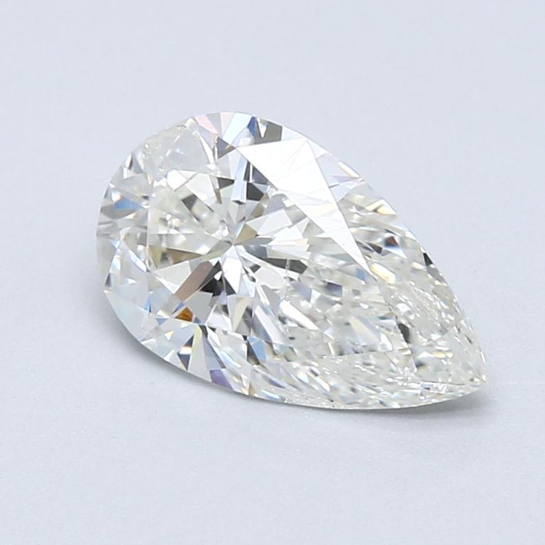 1.51 ct Pear Shape Diamond : H / SI2