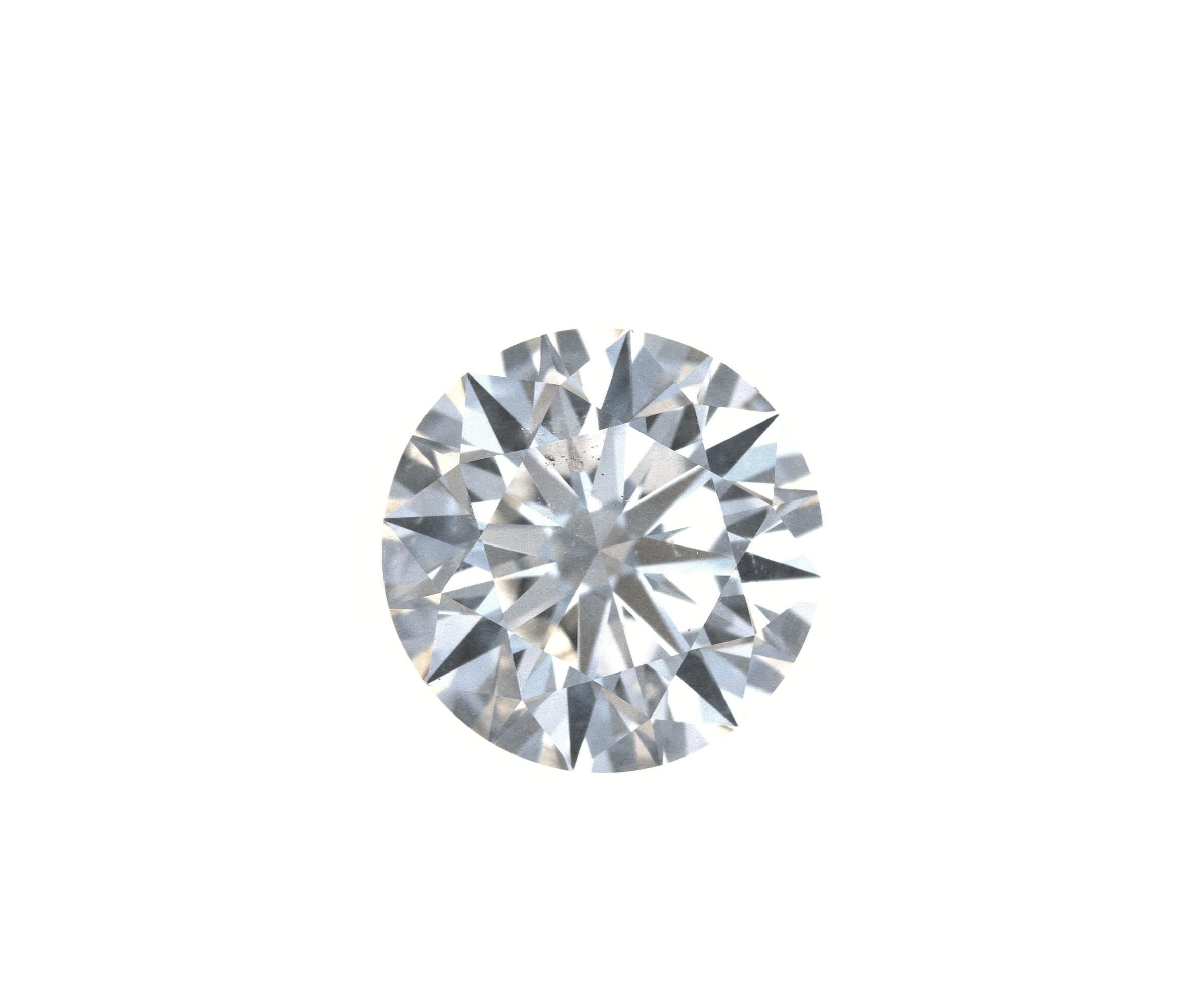 Round Cut 2.4 Carat J Color Si2 Clarity Sku 313100622
